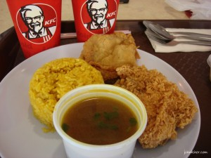 KFC Colonel's Royal Briyani Set