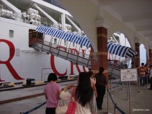 Boarding Star Cruise Pisces Penang