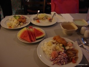Dinner Buffet @ Star Cruise Pisces