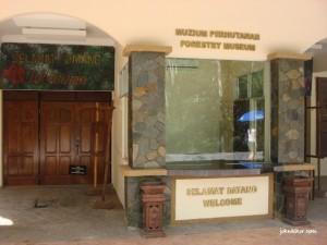 Forestry Museum/Muzium Perhutanan @ Taman Rimba Teluk Bahang Penang