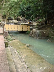 The upper side of the river @ Taman Rimba Teluk Bahang Penang