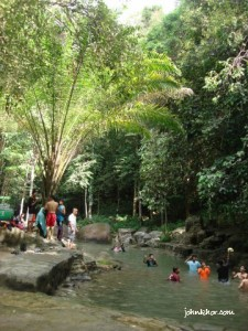 Another bigger river for more people to enjoy @ Taman Rimba Teluk Bahang Penang
