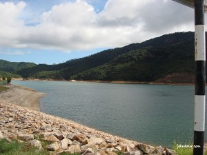 View before entering Teluk Bahang Dam Penang