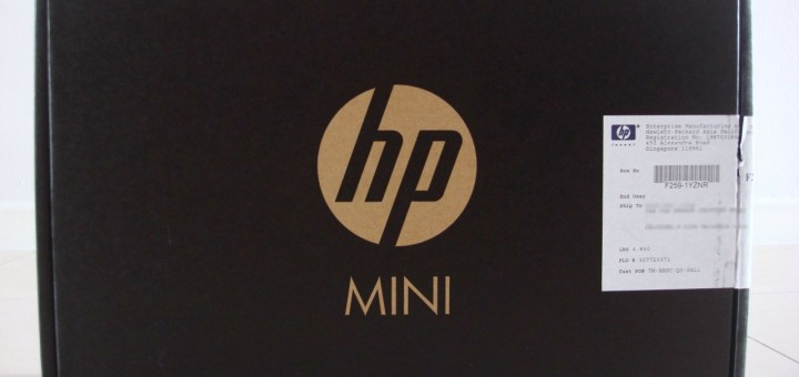 HP Netbook Box