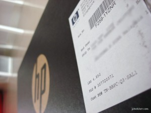 HP Mini 210 Unboxing