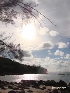 A beautiful scenery I took at Batu Ferringhi