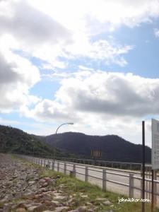 Another outside view of Teluk Bahang Dam Penang