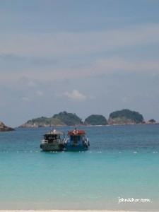 Relaxing view of Pasir Panjang, Pulau Redang