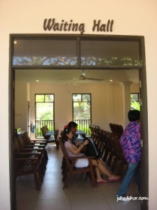 Laguna Redang Island Resort Waiting Hall