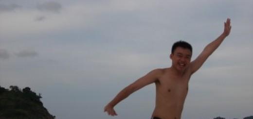 Flying at the Pasir Panjang, Pulau Redang