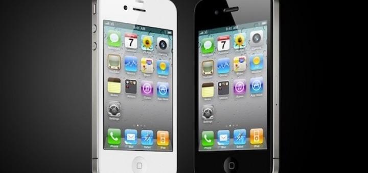 iPhone 4 White & iPhone 4 Black
