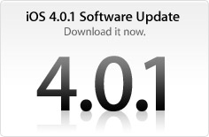 iPhone 3G, 3GS, 4 iOS 4.0.1 Update