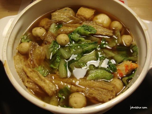 Our easy dinner - Vegetarian Bak Kut Teh