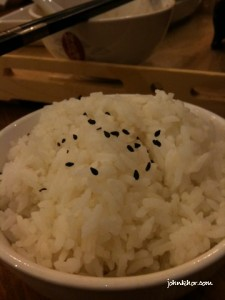 White rice @ Xian Ding Wei Queensbay Mall