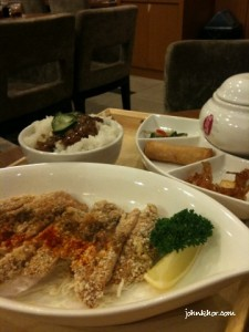 9 Taels Chicken Set @ Xian Ding Wei Queensbay Mall