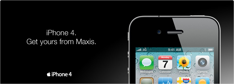 Maxis iPhone 4