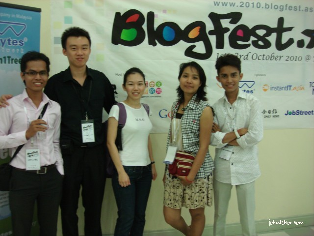 Cambodian Bloggers @ Blogfest Asia 2010, Penang