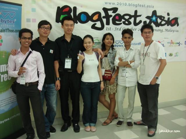 Cambodian & Penang Bloggers & Blogfest Asia 2010 Chairman, Kok Khai