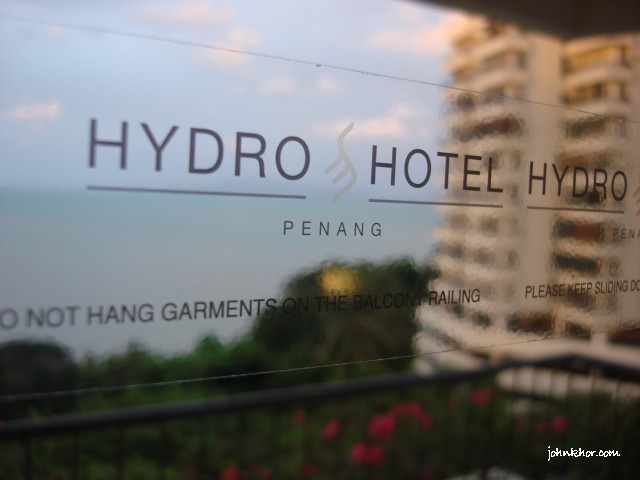View from the Presidential Suite @ Hydro Hotel, Batu Ferringhi, Penang