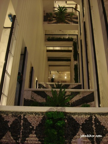 View from hallway of Hydro Hotel @ Hydro Hotel, Batu Ferringhi, Penang