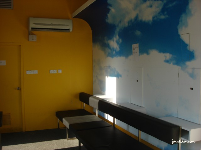 Inside of Aeroline Penang Service Center