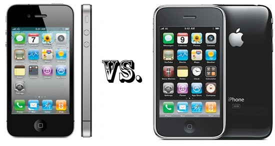 iPhone-4 VS iPhone 3GS