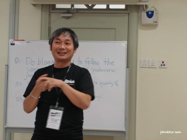 Jeremiah Foo, mybloggercon.com Chairman