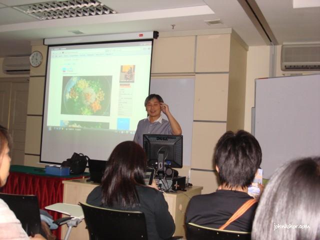 Jeremiah Foo & Jess Cheng on Travelogue @ Blogfest Asia 2010, Penang