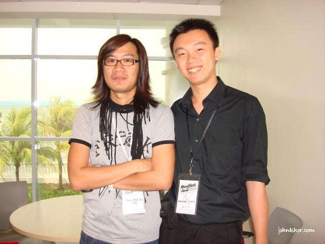 Ji Aun AI FM DJ @ Blogfest Asia 2010, Penang