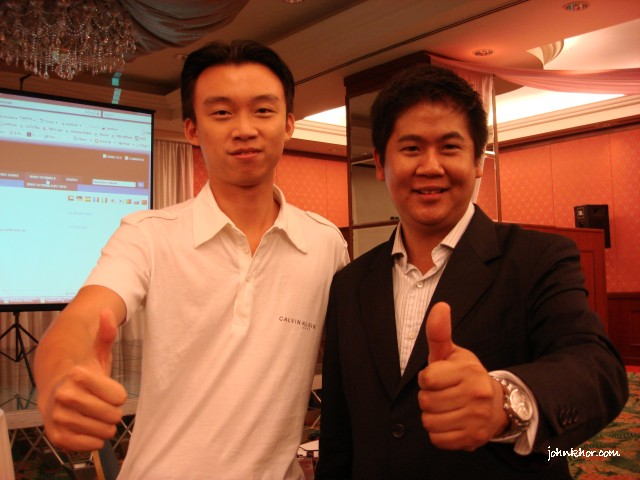 johnkhor777 with Fabian Lim, Google SEO (Search Engine Optimization) Specialist from Singapore