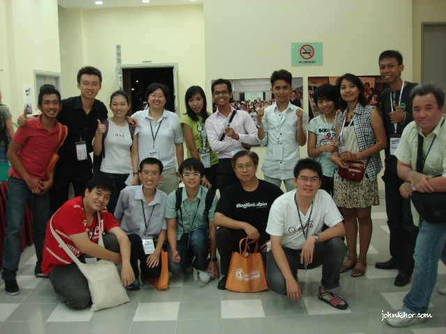 The Whole Gang of Bloggers @ Blogfest Asia 2010, Penang