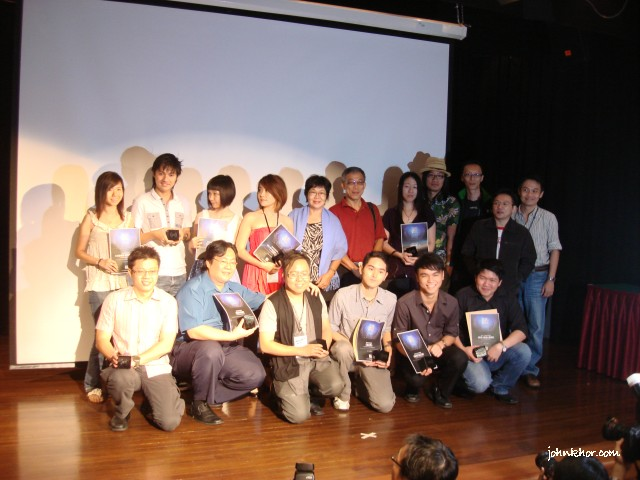 Winners of mybloggercon Bloggers Awards @ Blogfest Asia 2010, Penang