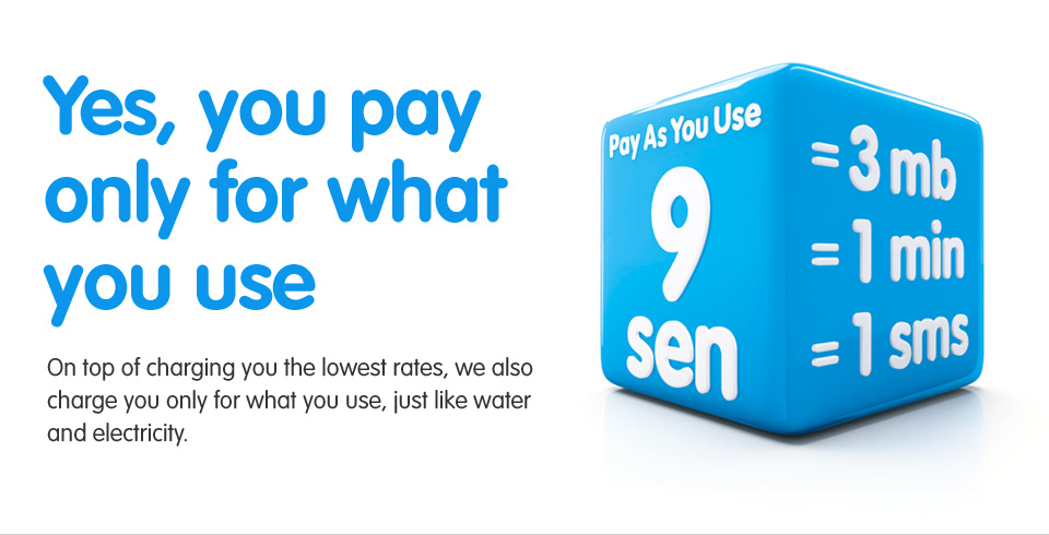 YES 4G Banner with Prices and Rates