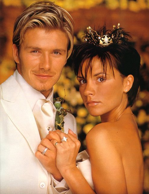 David Beckham marries Victoria