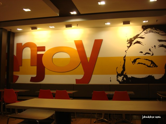 Enjoy! Mc Donald's new design theme