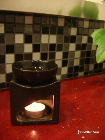 Aromatherapy in washroom @ Hydro Hotel, Batu Ferringhi, Penang