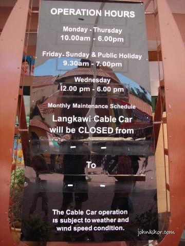 Langkawi Island Tour - Langkawi Cable Car 9