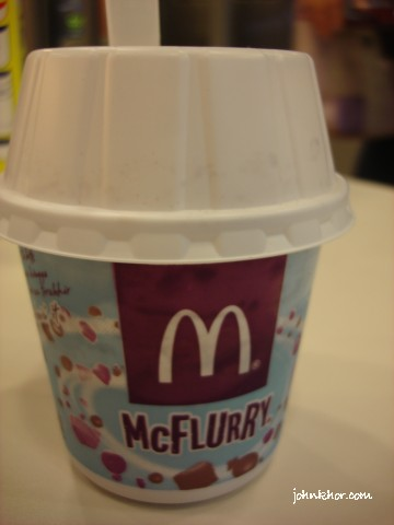 Milo Mcflurry @ Tesco Penang Mc Donald's