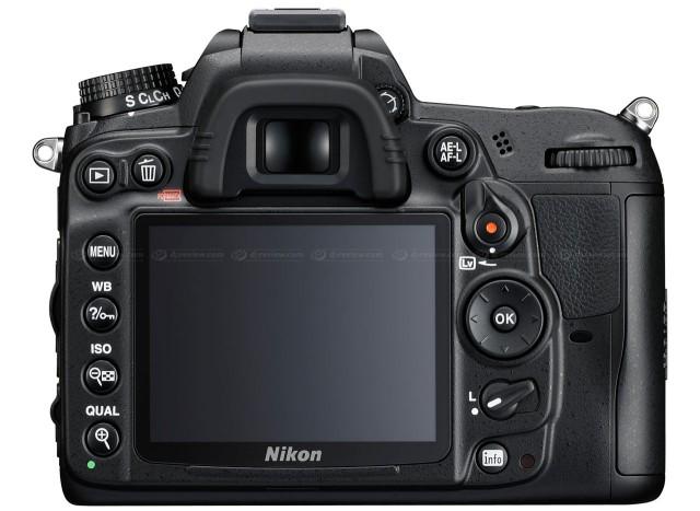 Nikon D7000 Back View
