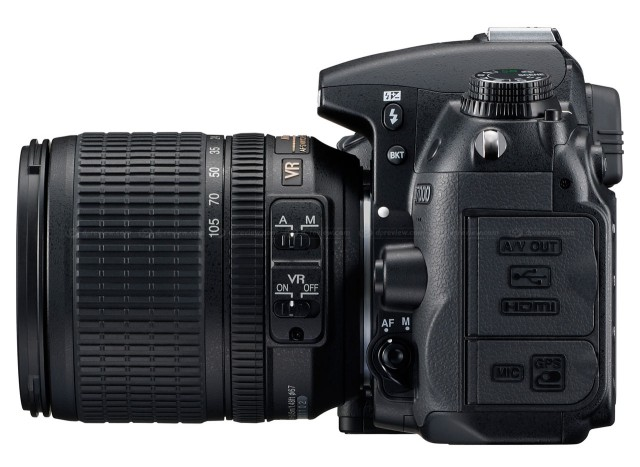 Nikon D7000 Left Side View