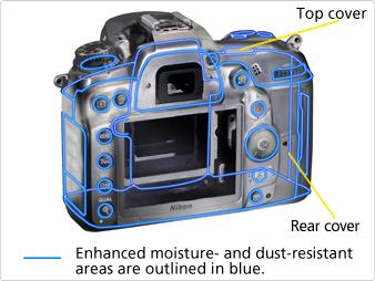 Nikon D7000 Magnesium Alloy Body