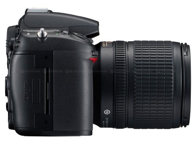 Nikon D7000 Right Side View