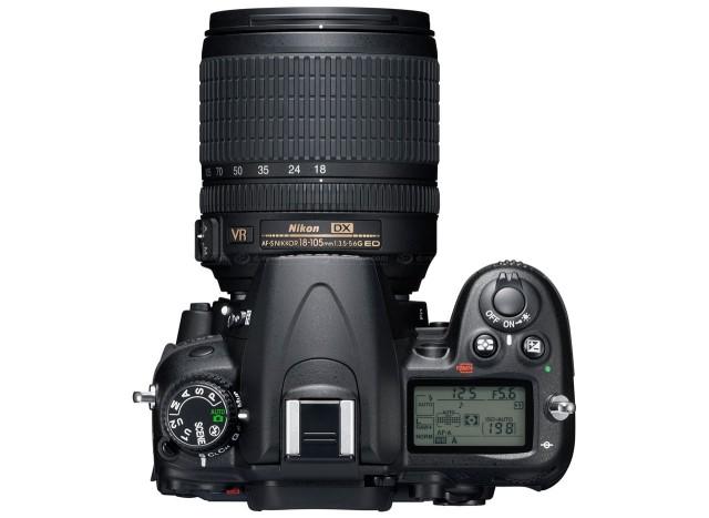 Nikon D7000 Top View