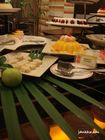 Dinner buffet desserts review @ Palms Restaurant, Hydro Hotel Penang 19
