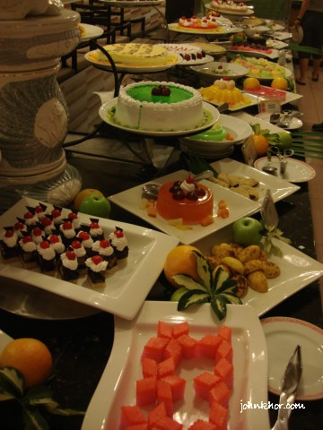 Dinner buffet desserts review @ Palms Restaurant, Hydro Hotel Penang 8