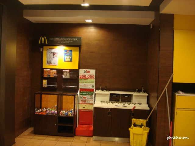 Sauce counter & information counter