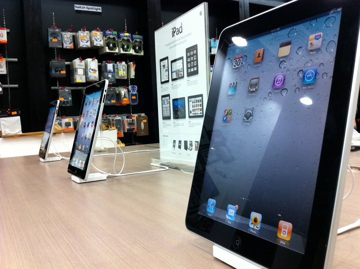Switch iPad displays