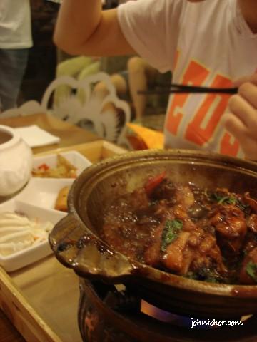 Hot 3 Cups Chicken @ Xian Ding Wei, Queensbay Mall, Penang