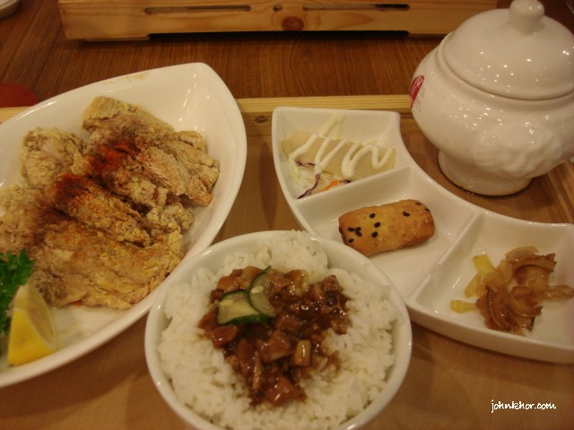 9 Taels Chicken @ Xian Ding Wei, Queensbay Mall, Penang
