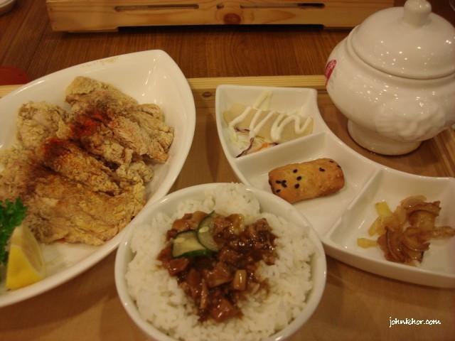 9 Taels Chicken @ Xian Ding Wei, Queensbay Mall, Penang